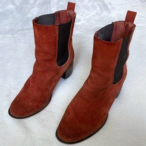 Jeffrey Campbell Rare Rust Areas Chelsea Boots 38